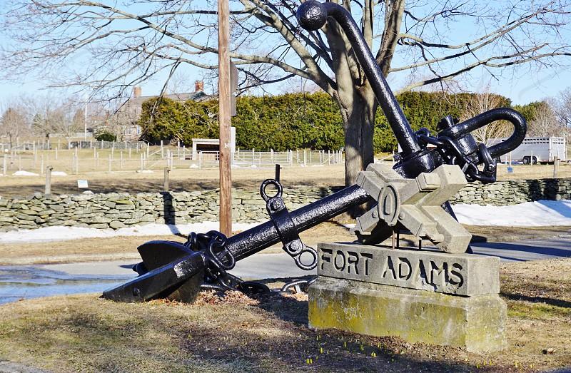 Fort Adams State Park in Newport Rhode Island photo