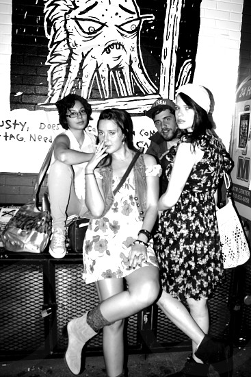 L.E.S. late night NYC photo