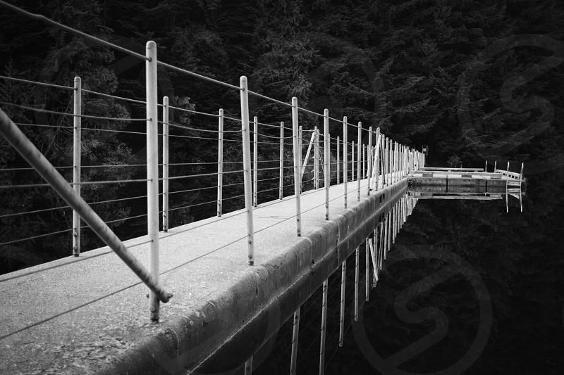 Floating Path. photo