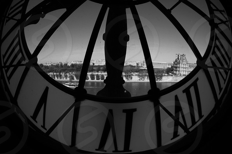 black clock photo