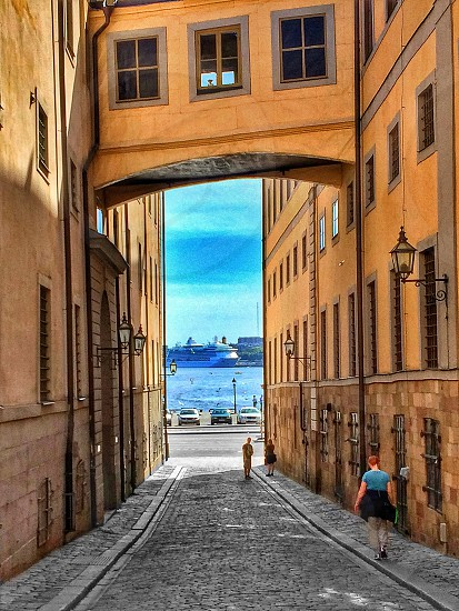 Old Town of StockholmSwedenarchitecture photo