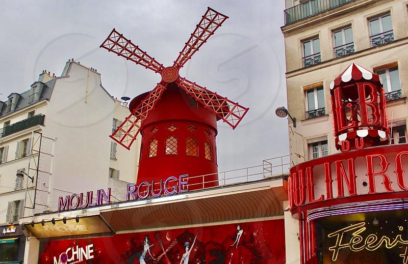 Moulin rouge Paris  photo