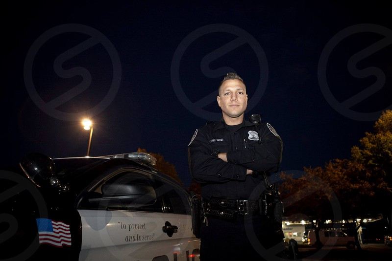 Cop police officer position of power photo