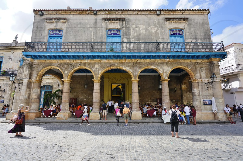 Plaza de la Catedral - Havana Cuba photo