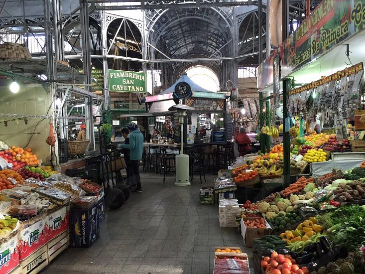 Buenos aires mercado shopping store photo