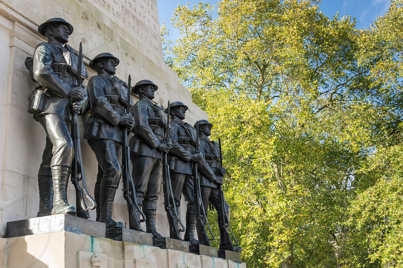 The Guards Memorial in London photo
