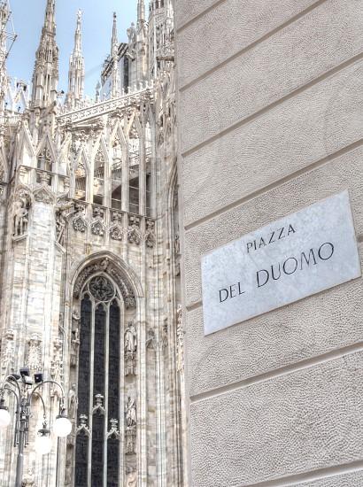 Piazza del Duomo - Milan Italy photo