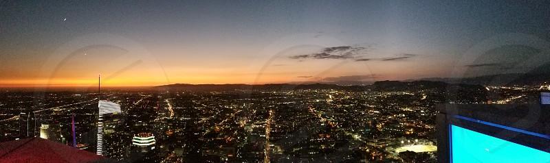 top of los angeles. photo