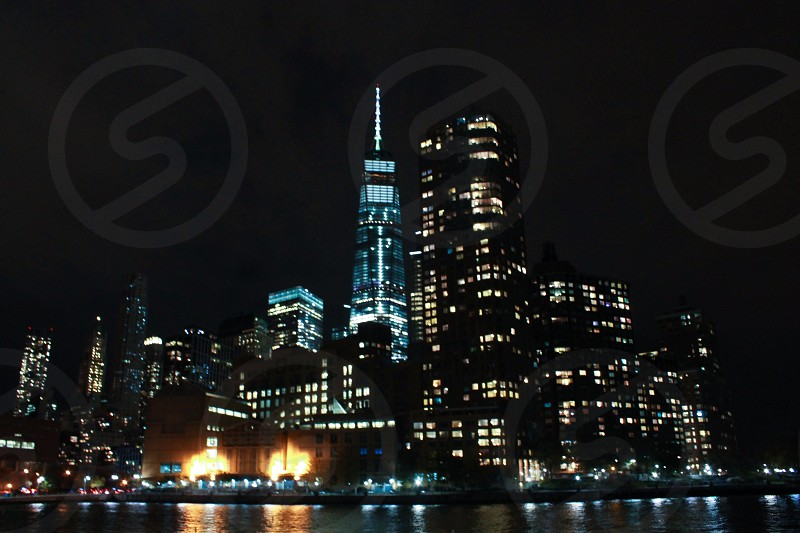 NYC  New York city world trade freedom tower  lower Manhattan  photo