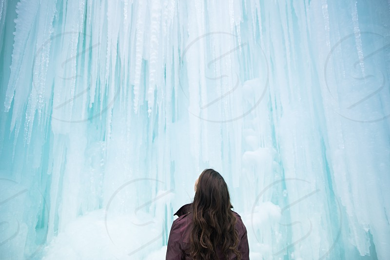 Midway Ice Castles in Midway Utah photo