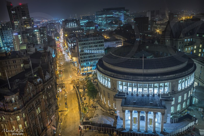 Manchester city library photo