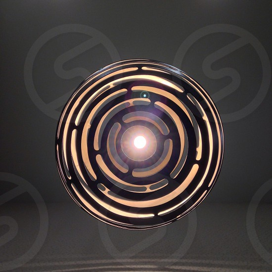 Circular lamp photo