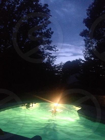 Night Swimming photo