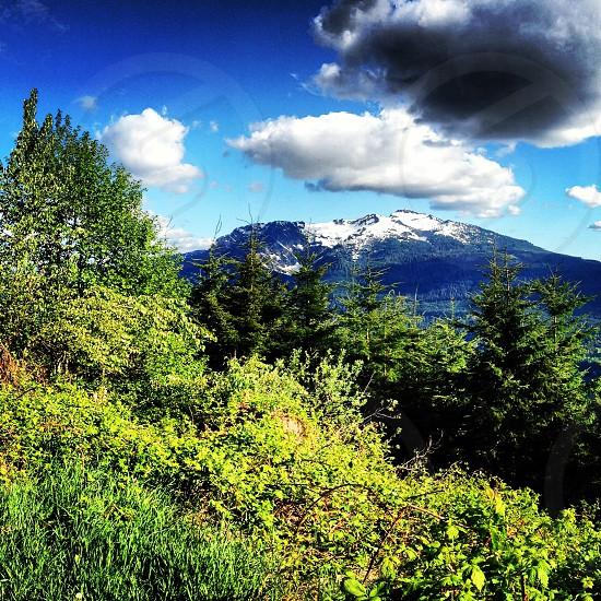 Mt. Pilchuck from Green Mountain Washington PNW photo