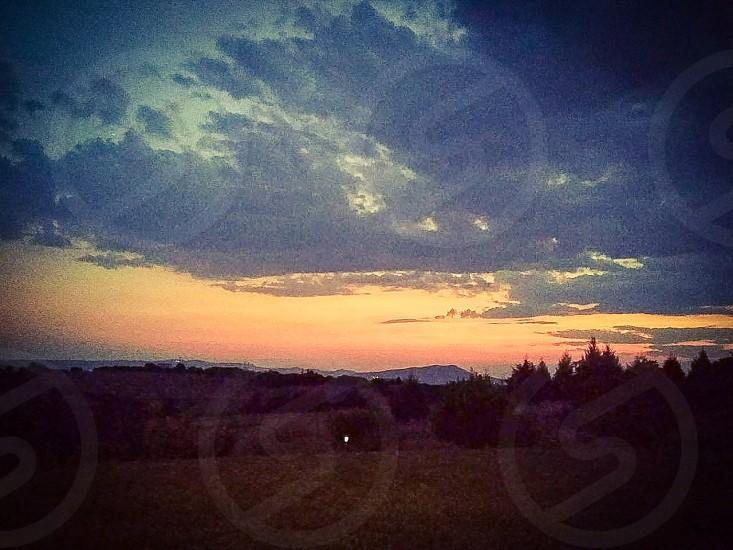 A dawn view photo