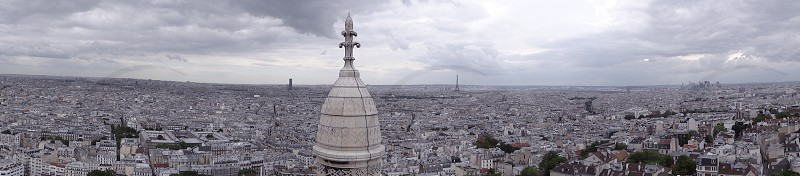View from Sacré-Cœur_Paris photo