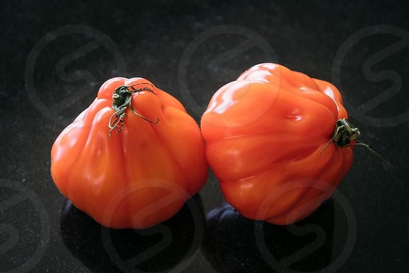 Cœur de bœuf tomatoes photo