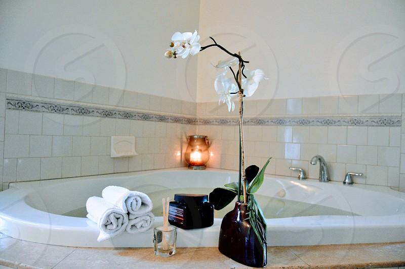 Home bathroom lifestyle  photo