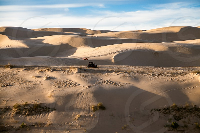 Sand dunes. Taken in California.  photo