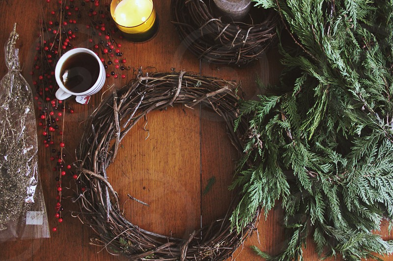 Wreath making photo