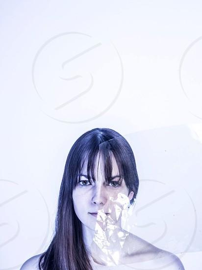 woman's face fashion photography photo