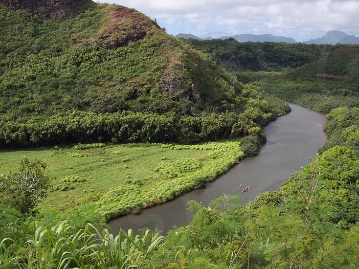 green mountain view photo