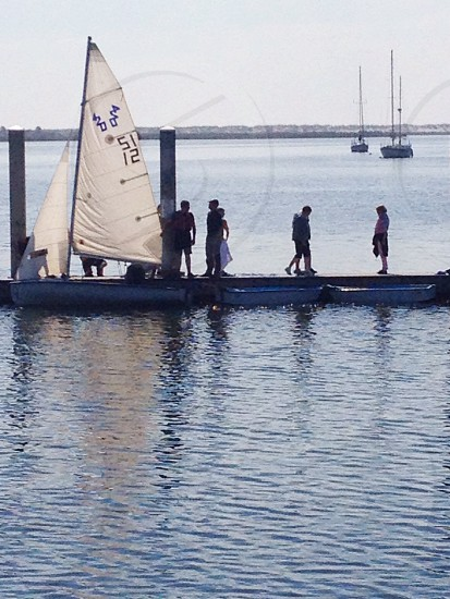 learning to sail photo