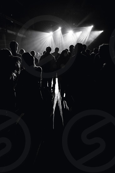 people partying  photo