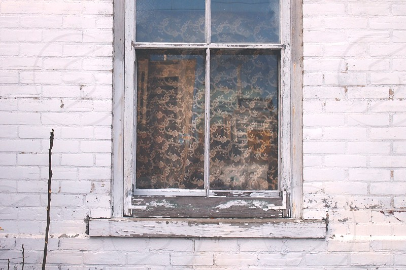 window certain house white old photo