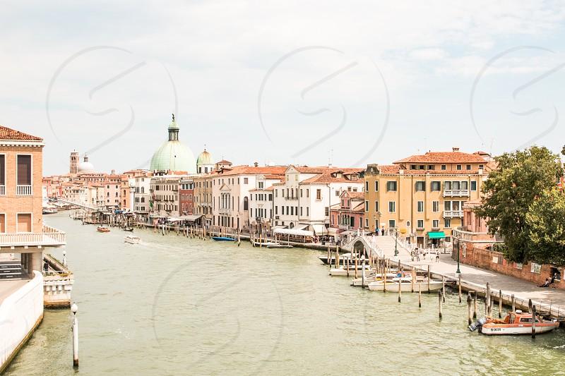 Dorsoduro Area In Venice photo