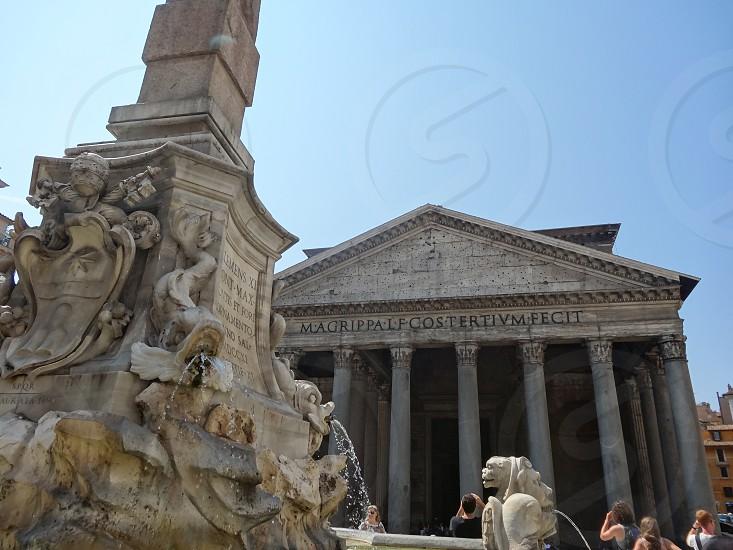 Pantheon rome photo