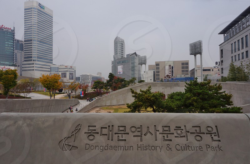 Dongdaemun Design Plaza - Seoul Korea photo