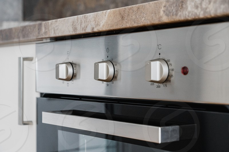 Oven control panel photo
