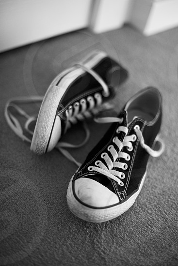 Converse trainers photo
