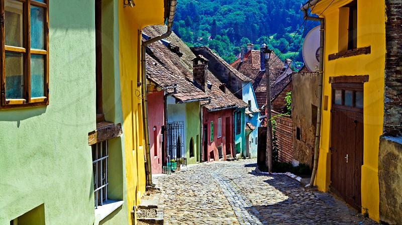 summer colours of sighisoara photo