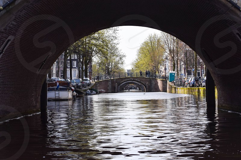 The canals of Amsterdam photo