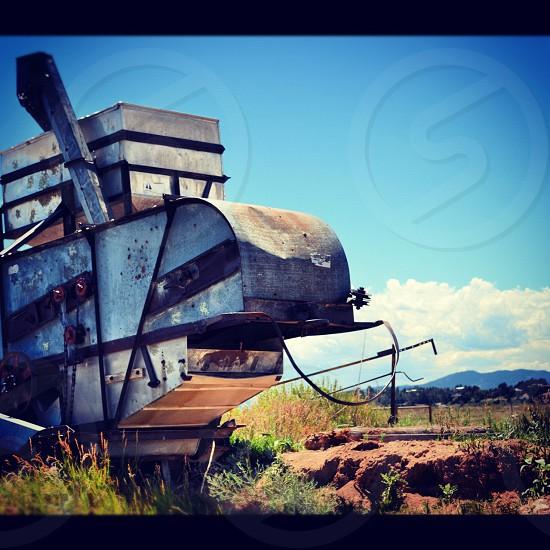 rock grinder farm equipment photo