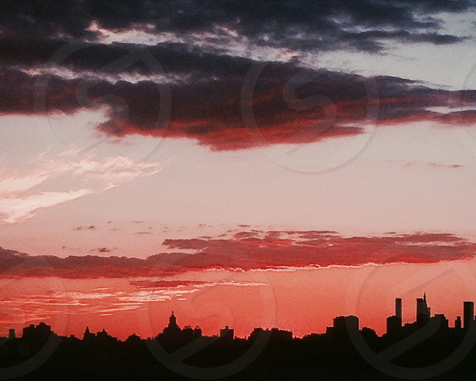 #shadowplay #highlights #contrast #summer #sunsets #nyc  photo