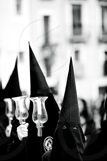 Photo taken during the Easter celebrations in Cuenca one of the most important and famous events in Spain. photo