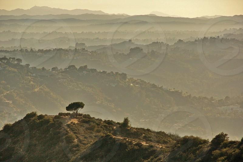 mountainous area photo