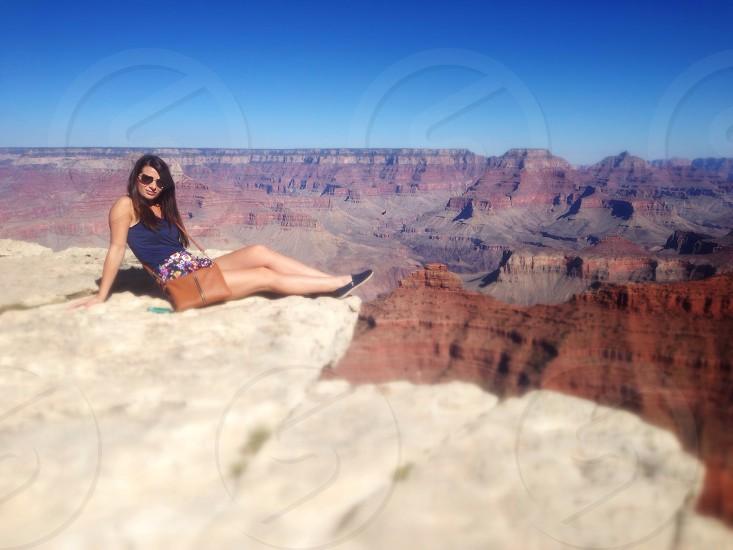 Grand Canyon heights vertigo Arizona  photo