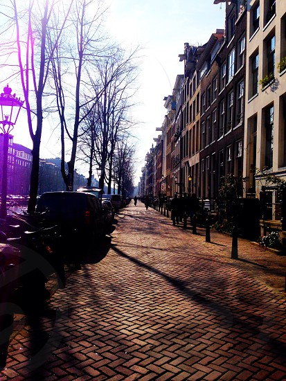 Streets of Amsterdam  photo