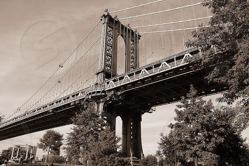 Manhattan Bridge... photo