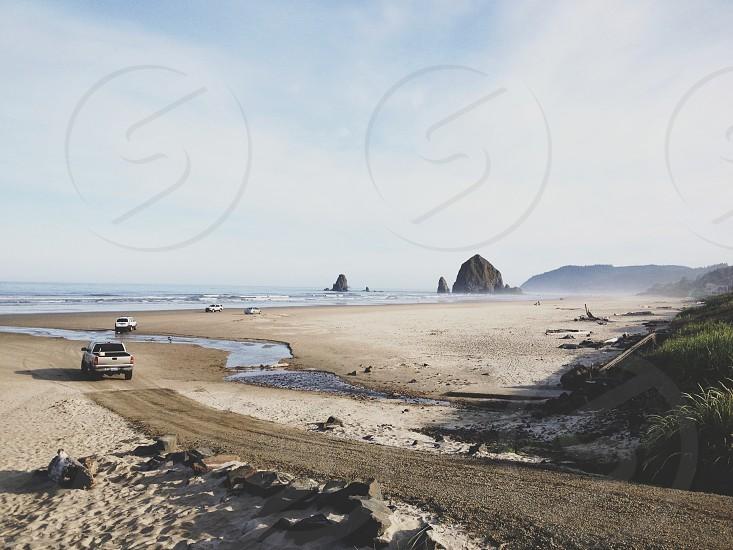 sea road view photo