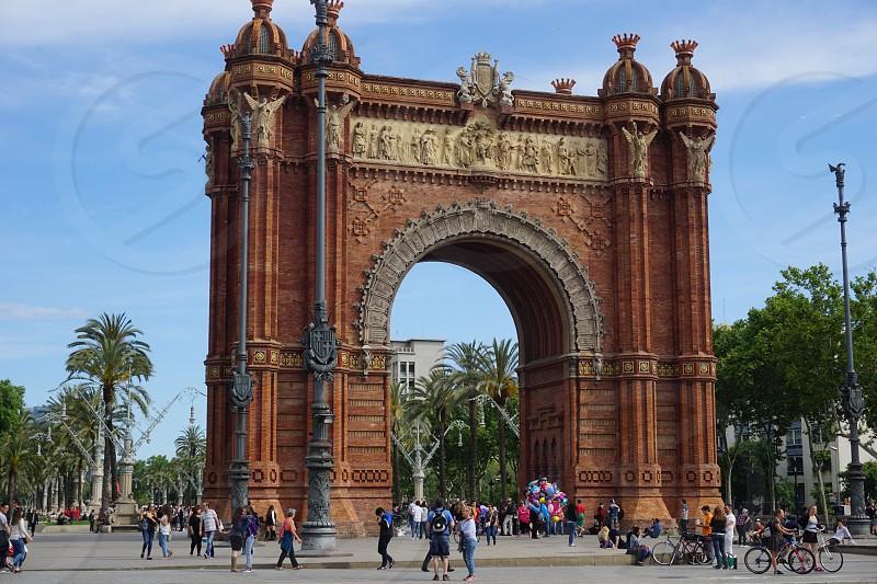barcelona Arc de Triomf photo