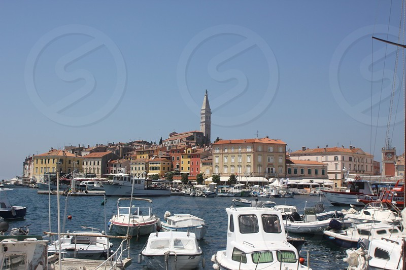 Istrian coastal harbour  photo