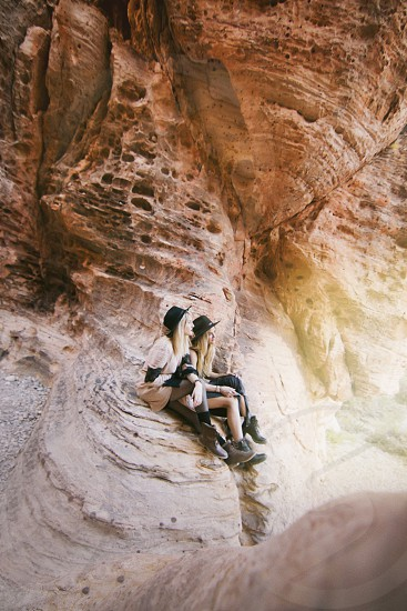 Travel Las Vegas red rocks beautiful  photo