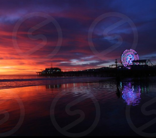 Santa Monica  CA  2014 photo