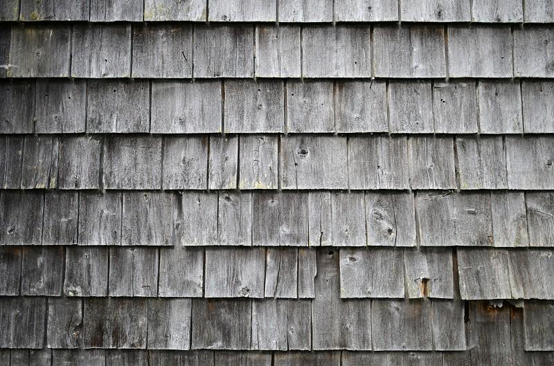 shingles siding building wood grey gray silver cedar shingles cottage wall cabin house camp chalet photo
