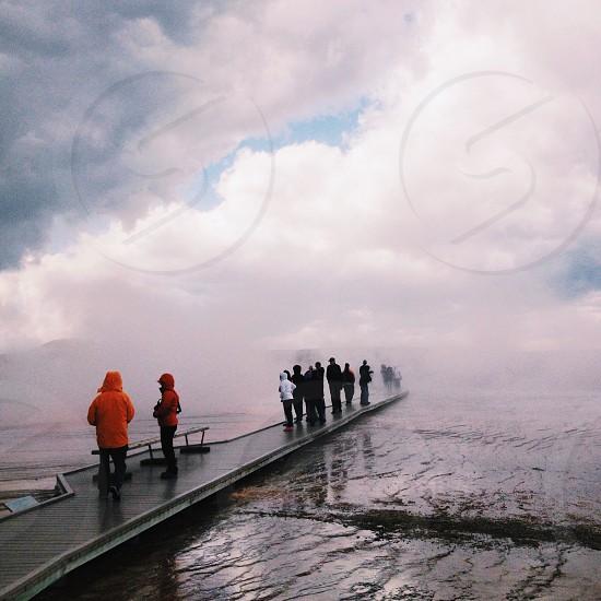 Yellowstone steam photo